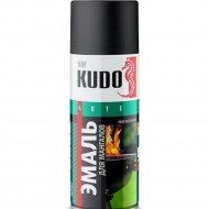 Эмаль «Kudo» для мангалов, термостойкая, черный, 520 мл