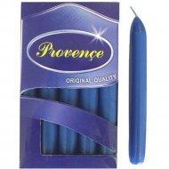 Набор свечей «Provence» 560109/66, синий, 17x2 см, 10 штук