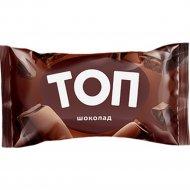 Мороженое «Топ» шоколадное с кусочками шоколада, 70 г.
