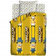 Комплект постельного белья «Миньоны 2» Black and yellow, 70х70