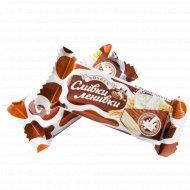 Конфеты глазированные «Сливки-ленивки» 1 кг., фасовка 0.25-0.35 кг