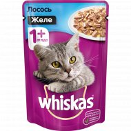 Корм для кошек «Whiskas» желе с лососем 85 г