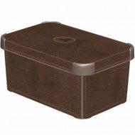Коробка «Curver» deco stockholm l, 188164, кожа, 395x295x235 мм.