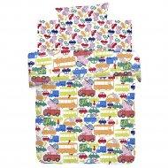 Комплект постельного белья «Свинка Пеппа» Джордж за рулем, 70х70