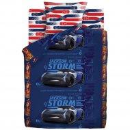Комплект постельного белья «Тачки» Джексон Шторм, 50х70