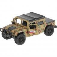 Машина «Hummer H1» пикап военный, 12 см, SB-18-09-H1-M(GY)-WB.