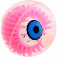 Игрушка «Забавный мячик» со световым эффектом, розовая.