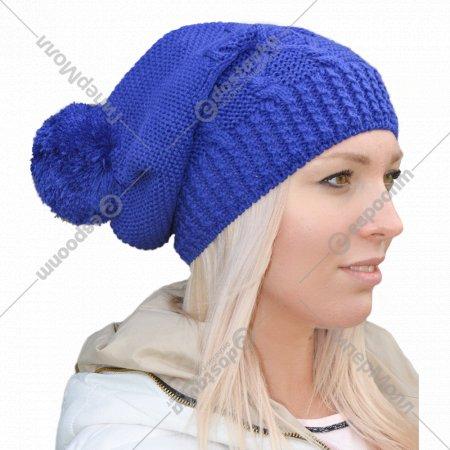 Шапка женская «Romgil» синий, .