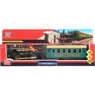 Модель «Поезд с вагоном»