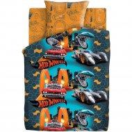 Комплект постельного белья «Hot Wheels» Опасные гонки, 50х70