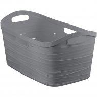 Корзина «Curver» ribbon 226272, серый, 40 л, 290х560х350.