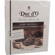 Конфеты «Duc d'O» Бельгийские трюфели, горький шоколад, 200 г.