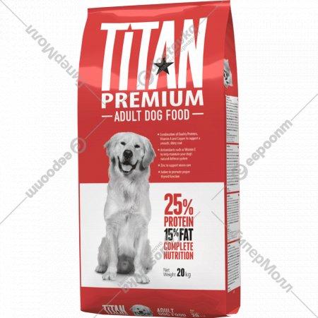 Корм для собак «Титан» Эдалт Дог Премиум, 20 кг.