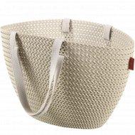 Корзина «Curver» emily cozy bag, 230281, белый, 23 л, 500х240х300 мм.