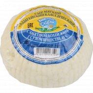 Сыр мягкий «Адыгейский классический» 45%, 1 кг., фасовка 0.3-0.4 кг