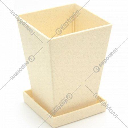 Кашпо с подставкой, 0.74 л. 10x20x13.6 см.