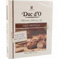 Конфеты «Duc d'О» Бельгийские трюфели, молочный шоколад, 200 г.