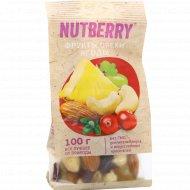 Смесь «Nutberry» из орехов, фруктов и ягод, 100 г.