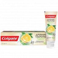 Зубная паста «Colgate» Древние Секреты, безупречная свежесть, 75 мл.