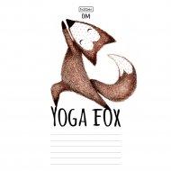 Тетрадь «Yoga Fox» в линию, A5, 18 л.