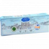 Масло сливочное «Молочный мир» ГороденЪ, несоленое, 72,5%, 430 г