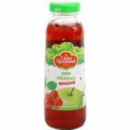 Сок «Сады Придонья» яблочно-вишневый, 300 мл.
