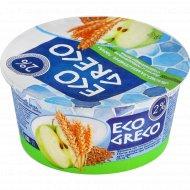 Йогурт «Eco greco» яблоко-злаки-семена льна, 2%, 130 г.