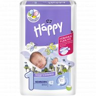 Подгузники для детей «Bella Baby Happy» newborn 2-5 кг, 42 шт.
