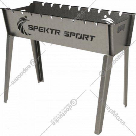 Мангал «Spektr Sport» Laser Grill Люкс, 3 мм, 9 шампуров