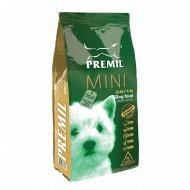 Корм для собак «Premil» мини, с уткой, индейкой и рисом, 1 кг.