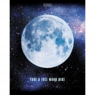 Тетрадь «Лунный свет» в клетку, А5, 96 л.