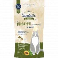 Лакомство «Sanabelle» хрустящие подушечки, курица со шпинатом, 55 г.
