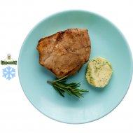 Филе цыпленка - гриль с зеленым маслом, жаренное, замороженное, 1/100/20