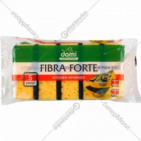 Губки кухонные «Domi» 5 шт.