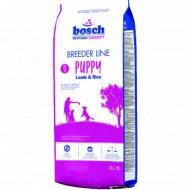 Корм для собак «Бош Бридер паппи» ягненок с рисом, 20 кг.