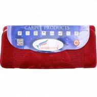 Набор ковриков для ванны «Shahintex» 50х80+50х50 см, бордовый.