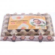 Яйца куриные «Кобринская птицефабрика» Курочкина дача, мелкое, 30 шт