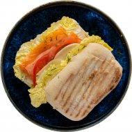 Чиабатта с лососем и сливочным сыром замороженное, 1/220 .