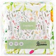 Скатерть «Доляна» полевые цветы, 220х144 см