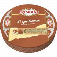 Сыр плавленый «President» c грибами 45 %, 140 г.