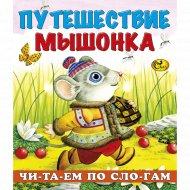 Книга «Путешествие мышонка» серия «Читаем по слогам».