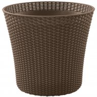 Кашпо «Keter Group» Conic Planter-BRW557-EE-STD Cu
