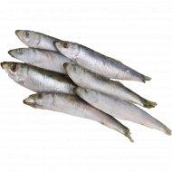 Рыба «Килька» мороженая, 1 кг., фасовка 0.9-1.1 кг