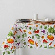 Скатерть «Доляна» овощи, 145х180 см