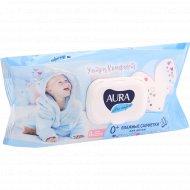 Салфетки влажные детские «Aura» ультра комфорт, 120 шт.