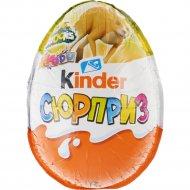 Шоколадное яйцо «Киндер Сюрприз» 20 г.