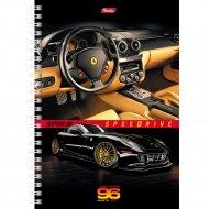 Тетрадь на гребне А5ф «Speedrive» 96 л.