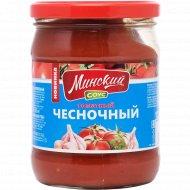 Соус томатный «Миснкий» чесночный, 490 г.