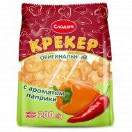 Крекер оригинальный «Слодыч» в ароматом паприки, 200 г.