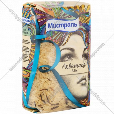 Крупа рисовая «Мистраль» акватика Mix, 500 г.